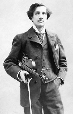 法国小提琴家蒂博