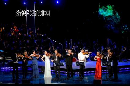 看十大青年小提琴家在新清华大展异彩