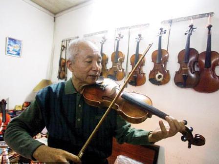 自学小提琴 以琴会友会到上海爱乐乐团